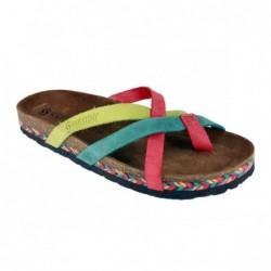Sabatini 1042 Multicolor Raja - Calzatura comoda e pratica - Vera pelle